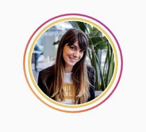 Opvallen op Instagram stories: een kader om je profielfoto