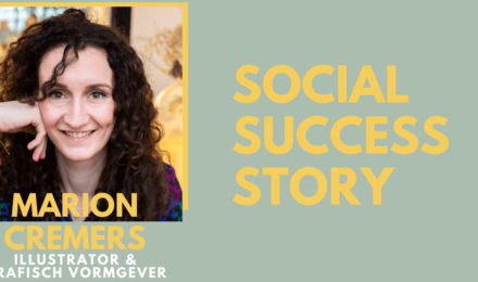 """Social success story: grafisch ontwerper en illustrator Marion """"Ga Instagram stories maken! Het liefst met je gezicht erop"""""""