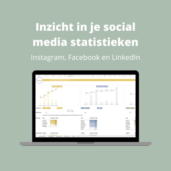 Inzicht in je social media statistieken