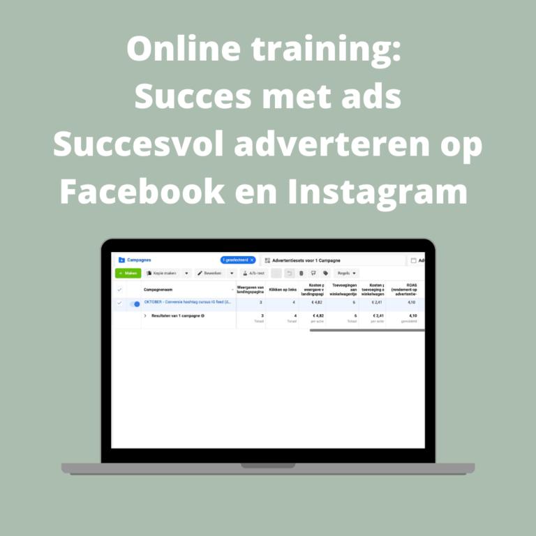 online-training-adverteren-facebook-instagram