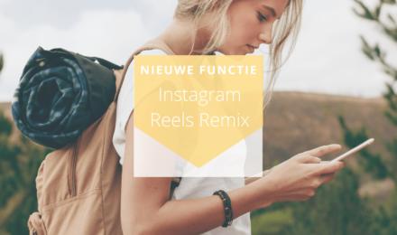 Hoe werkt Instagram Reels Remix